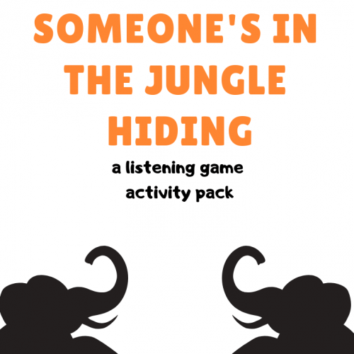 Someone's in the Jungle Activity Pack
