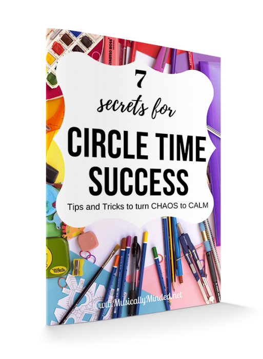 7 Secrets for Circle Time Success