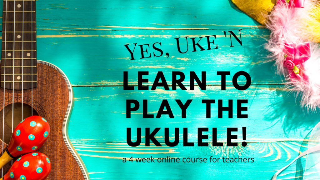 ukulele class for teachers