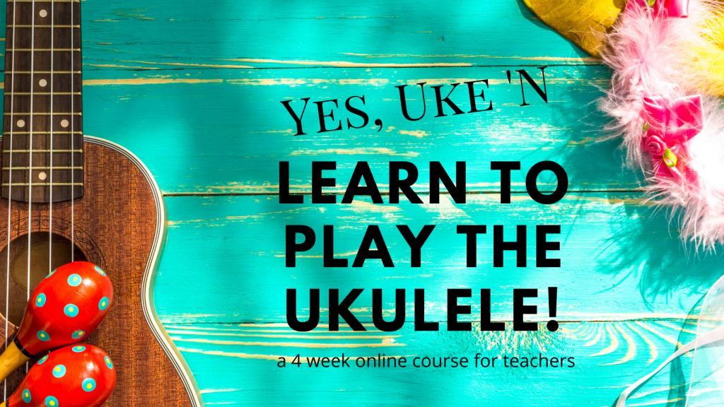 ukulele class for teachers