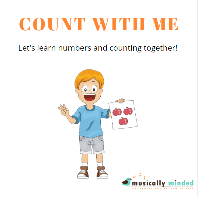 Counting song for toddlers