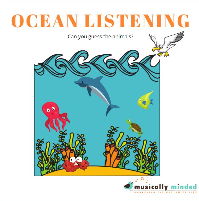 preschool song about the ocean