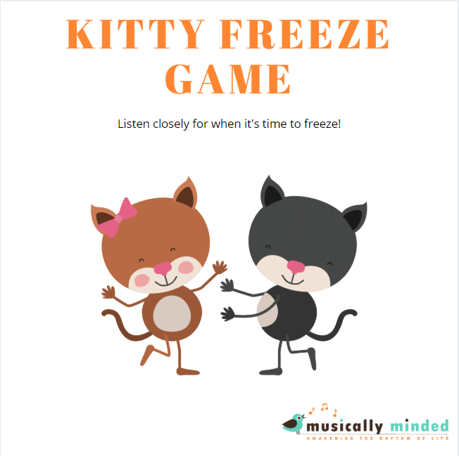 circle time freeze game