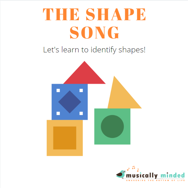 preschool song about shapes