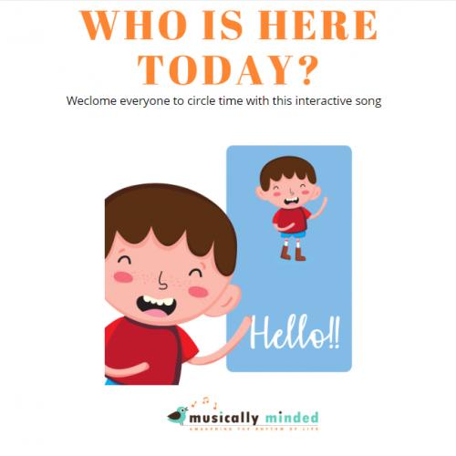 classroom hello song