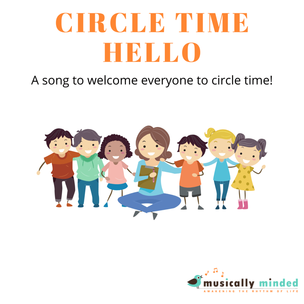 easy circle time song