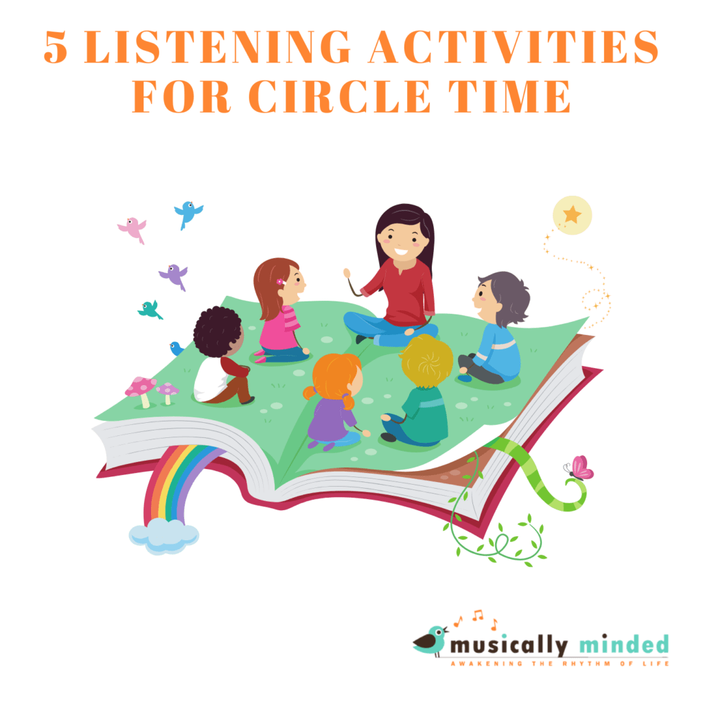 listening activities for circle time