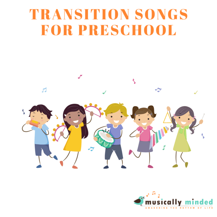 transition songs for preschool